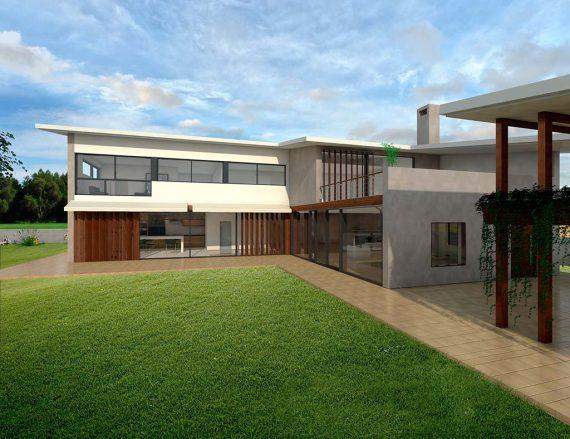 Precio construcci n casa chalet acantha en bizkaia - Precio m2 construccion chalet ...