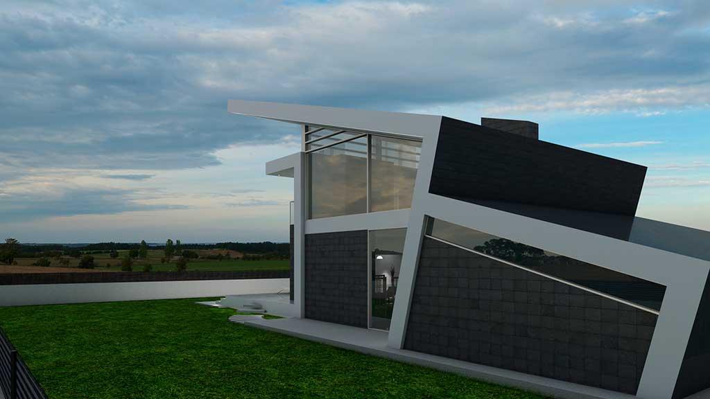 Precio construcci n casa chalet aglaia en bizkaia - Precio m2 construccion chalet ...