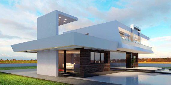 Precio construcci n casa chalet gredel en bizkaia - Precio m2 construccion chalet ...
