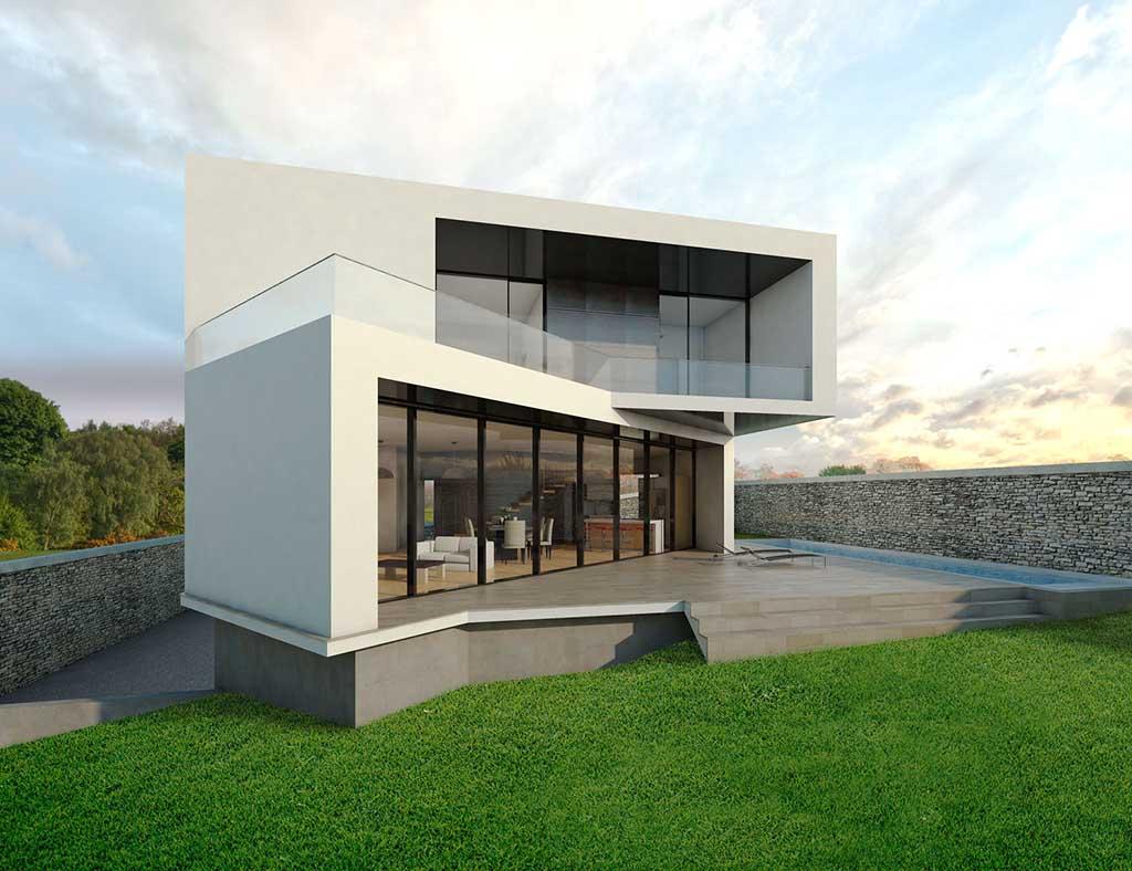 Precio construcci n casa chalet layna en bizkaia gipuzkoa - Precio m2 construccion chalet ...
