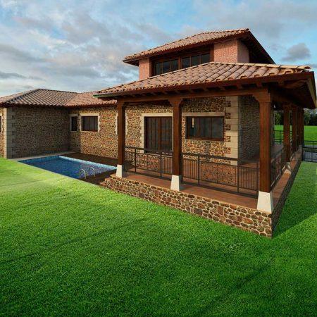 Dise os para construir casas o chalets al mejor precio - Precio m2 construccion chalet ...