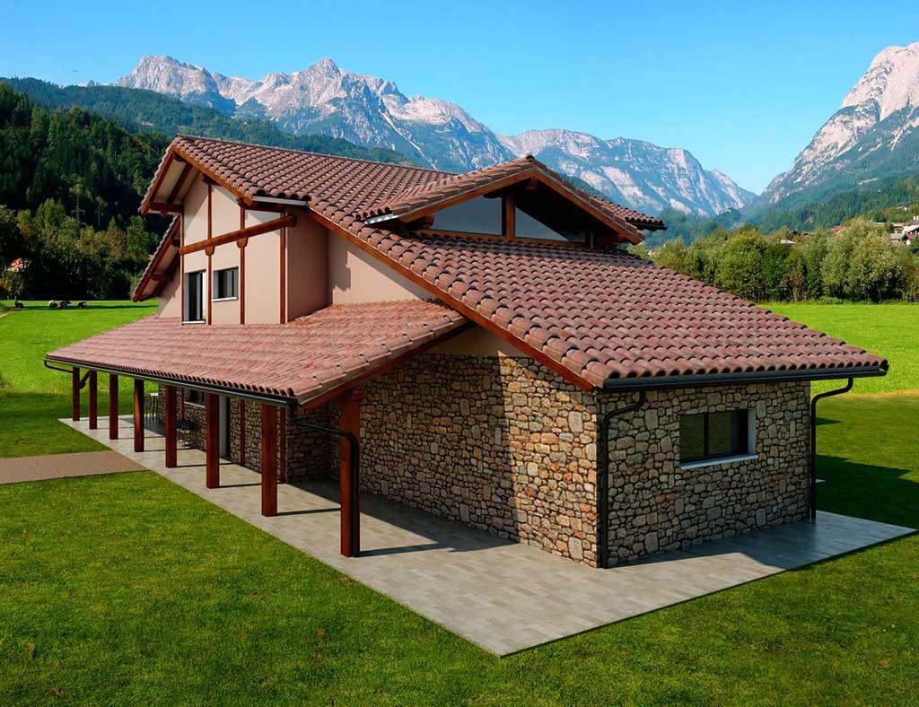 Precio construcci n casa chalet xanthe en bizkaia - Precio m2 construccion chalet ...