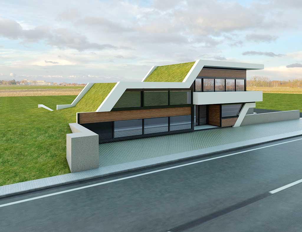 Precio construcci n casa chalet zale en bizkaia gipuzkoa - Precio m2 construccion chalet ...