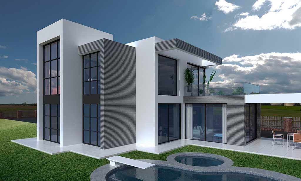 Precio construcci n casa chalet zenaide en bizkaia - Precio m2 construccion chalet ...