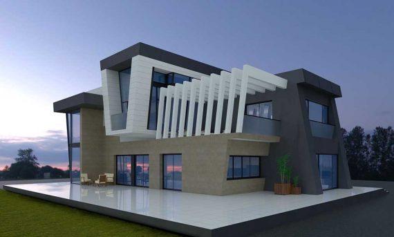 Precio construcci n casa chalet vitalis en bizkaia - Precio m2 construccion chalet ...
