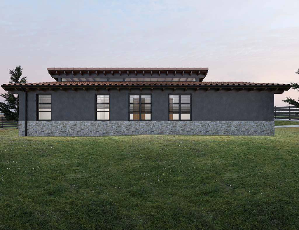 Precio construcci n casa chalet jewel en bizkaia gipuzkoa - Precio m2 construccion chalet ...