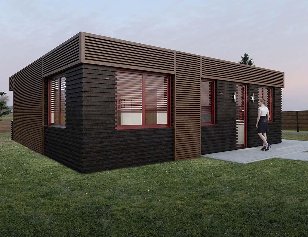 Precio construcci n casa chalet harmin en bizkaia - Precio m2 construccion chalet ...
