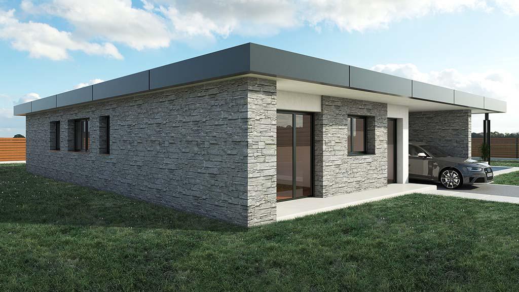 Precio construcci n casa chalet valkiria en bizkaia - Precio m2 construccion chalet ...