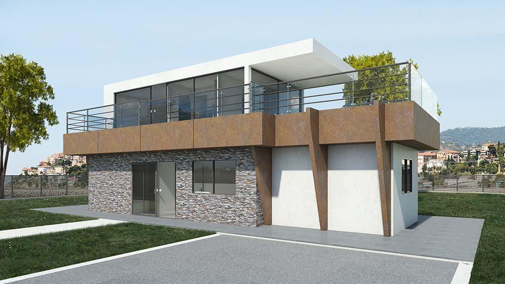 Precio construcci n casa chalet helder en bizkaia - Precio m2 construccion chalet ...