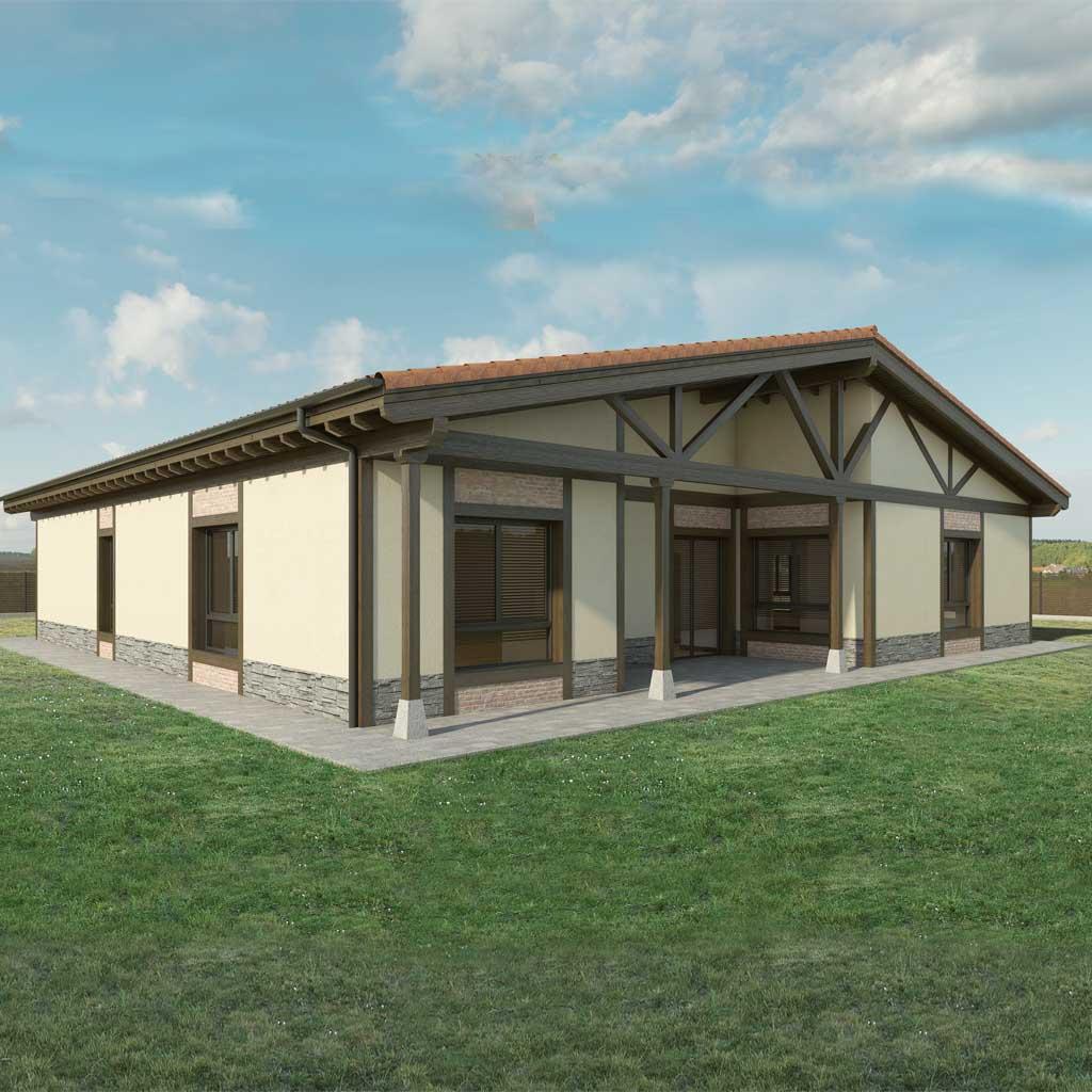 Precio construcci n casa chalet alteria en bizkaia - Precio m2 construccion chalet ...