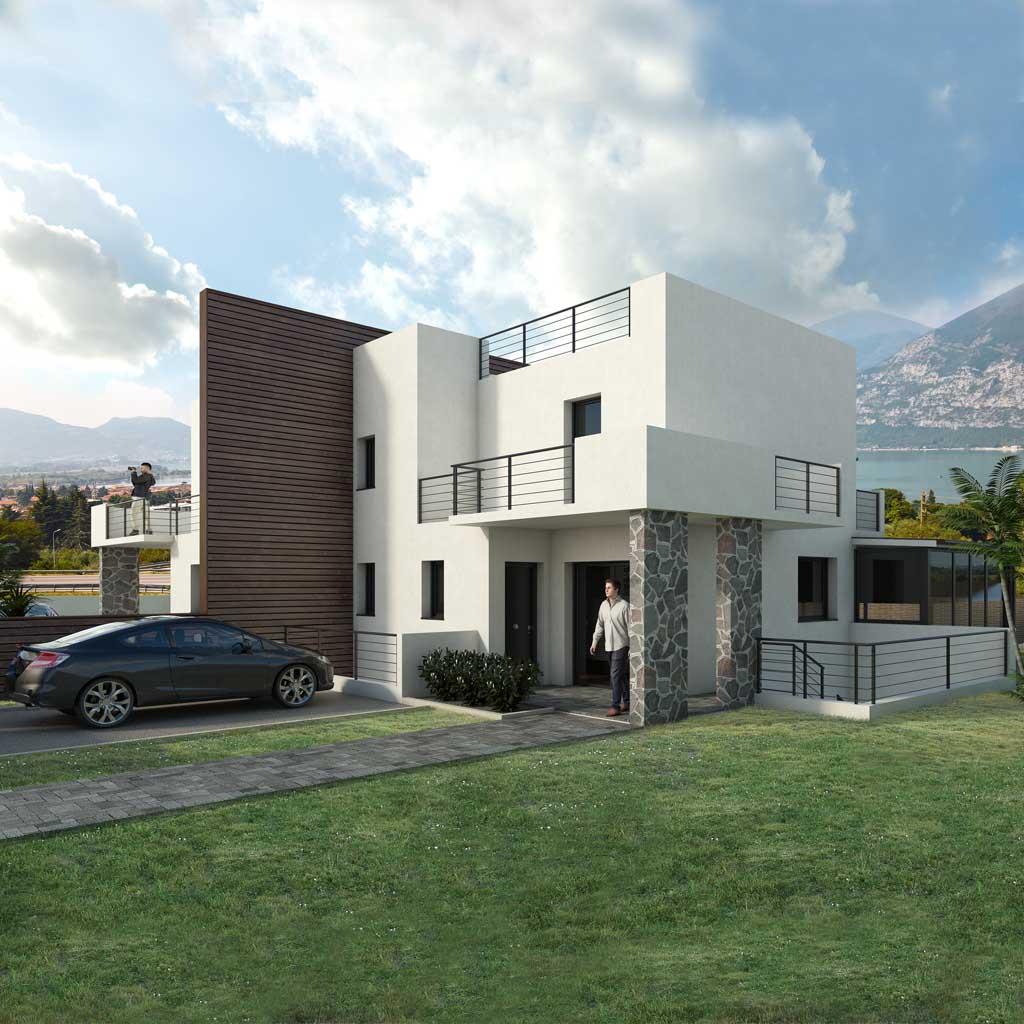 Precio construir casa chalet axel en bizkaia gipuzkoa alava euskadi cantabria bitrako - Precio construir casa ...