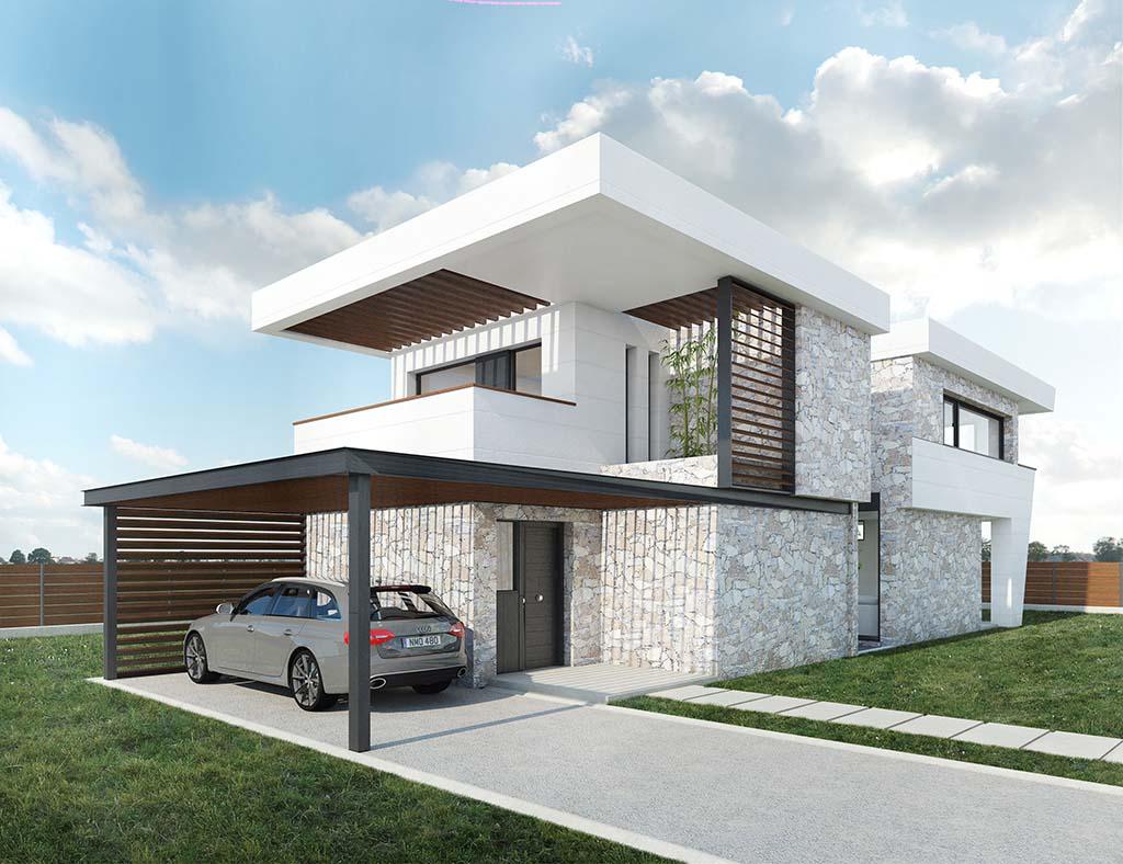 Diseño casa Bario para construir