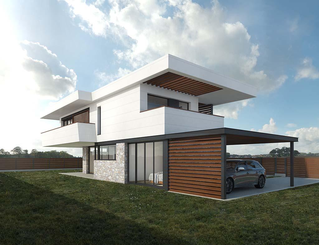Diseño casa Bario para construir 2