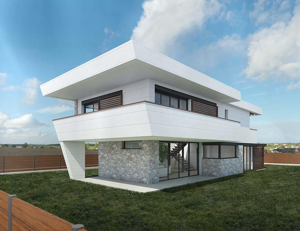 Diseño casa Bario para construir 3