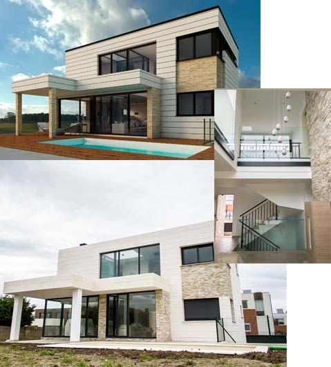 Diseno construccion casa moderna
